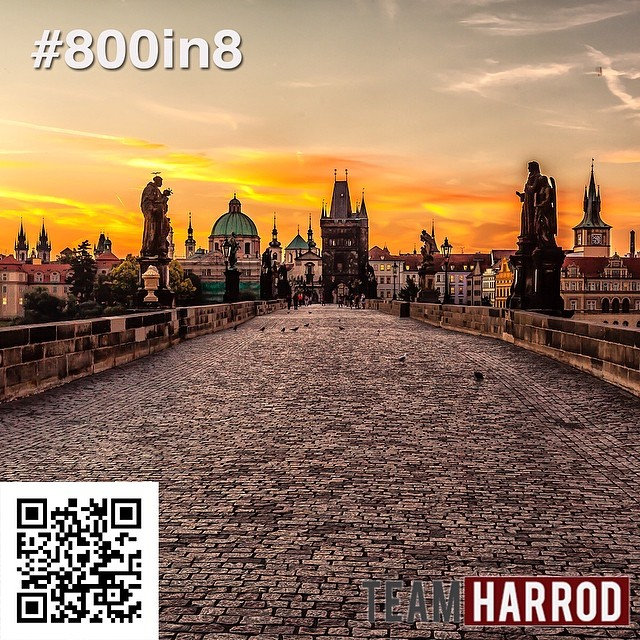 "#800in8 #HarrodRallyTime ""Prague isn't just a city, but an entity of some kind."" — Sezin Koehler WOULD YOU HELP US HIT #800in8?  Check this link to start giving today - https://team.org/about/profile/803 #LifeOfaMissionary #Prague"