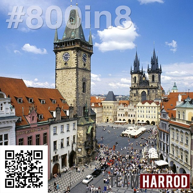 "#800in8 #HarrodRallyTime ""Prague changes like a precious stone to reflect the weather, the time of day and the season of the year."" –Christian Norberg-Schulz  Our heart is to #ReachTheHeartReachTheWhole. Reach the heart of Czech, Prague, reach the whole. Reach the heart of Europe, Czech, reach the whole.  WOULD YOU HELP US HIT #800in8?  Click this link to start giving today - https://team.org/about/profile/803 #LifeOfAMissionary #Prague"