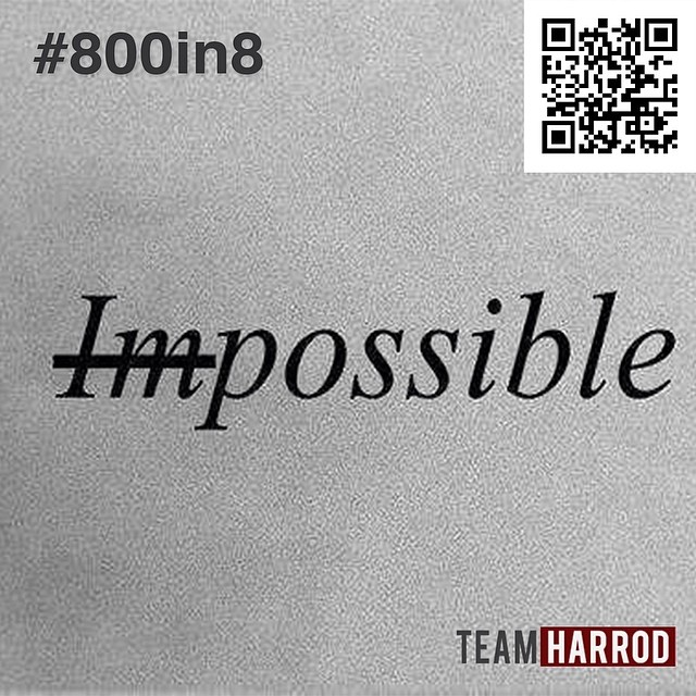 "#TimeToPraise ""For nothing will be impossible with God."" Luke 1:37 #EveningMath We're closer to #800in8! Today we saw $160 of monthly support come in! That's just day one of 8!!! THANK YOU! Let's keep RALLYING!  #HarrodRallyTime #HeWillSurelyDoIt"